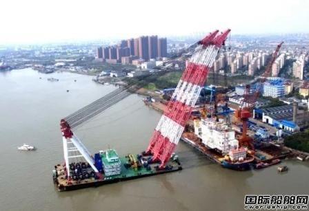 上海中远船务交付P70 FPSO海工项目模块