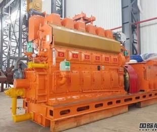 宁波中策交付韩国船东3套重油发电机机组