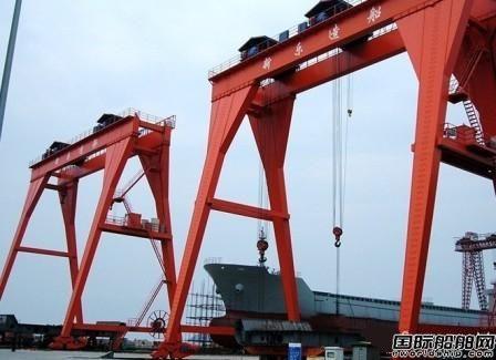 新乐造船5500吨化学品船合同顺利签约