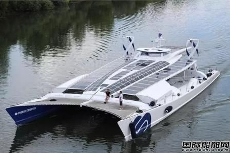 世界首艘可再生能源动力无人船环游世界