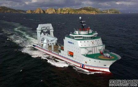上船院签约设计全球最大最先进大型深远海救助船