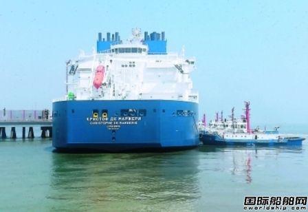 创纪录!这艘LNG船仅用18天到达中国
