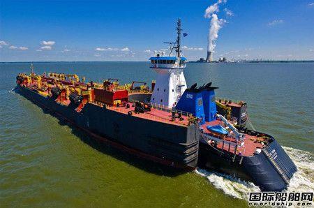 Gunderson Marine接获1艘20万桶油驳船订单
