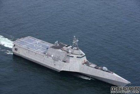 美国海军LCS18濒海战斗舰完成验收试验