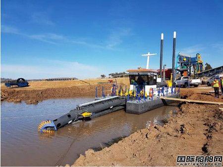 达门船厂为非洲内陆疏浚工程提供绞吸式挖泥船