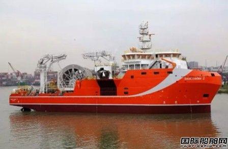 广东中远海运重工首制深海原油中转船全力保试航