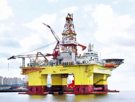 大船集团第六代深水半潜式钻井平台获首份租约