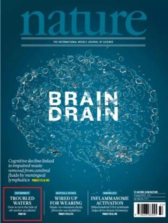 上海海事大学最新研究获选《自然》杂志封面亮点