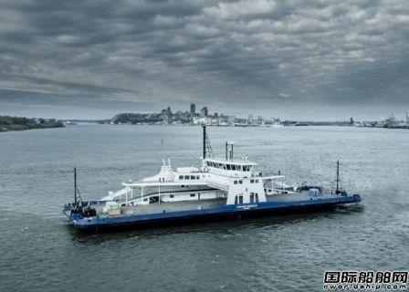首艘北美建造的LNG渡船完成调试