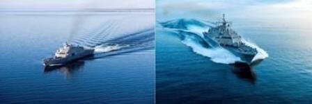 芬坎蒂尼交付美国海军2艘濒海战斗舰