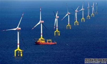 德国首个商用海上风场庆祝5周年