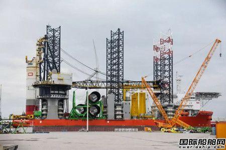 世界最大风电安装船吊机坍致4人重伤
