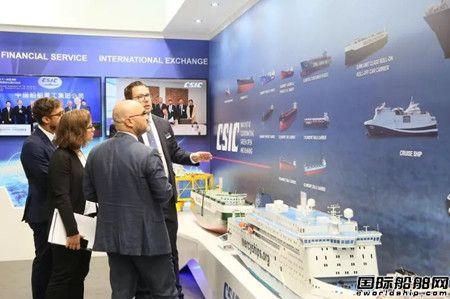 中船重工盛装亮相2018年德国汉堡海事展