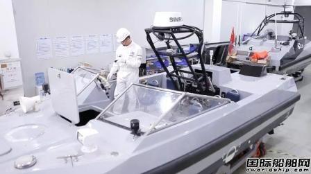 中国船级社签发首艘无人艇入级证书