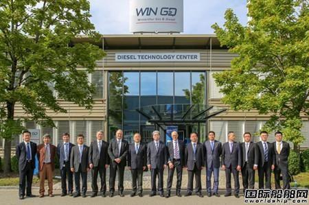 雷凡培调研WinGD公司充分肯定收购三年来的发展