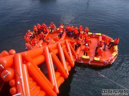 领海集团海上遇险人员撤离系统装备交通部海上培训中心
