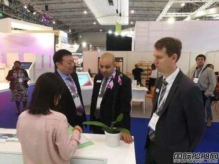 中国船级社参加第30届巴塞罗那天然气展