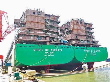 福建规模船企前8个月创产值91.29亿元