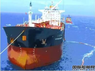 """""""海洋石油116""""累计外输原油突破1亿桶"""
