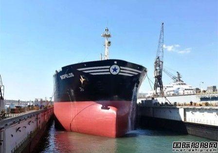 """上海中远海运重工赴比港为""""PIRAEUS III""""号号浮船坞维保"""