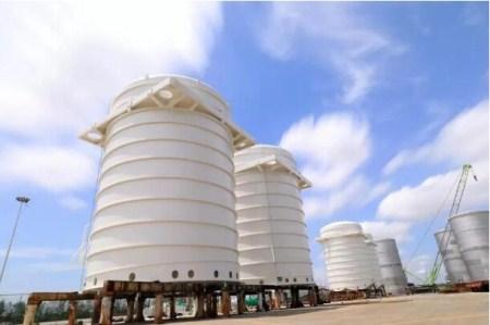 中集安瑞科成功研制国内首个11.8米直径薄壁封头船用果汁罐