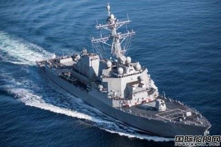 HII接获美国博彩送体验金网站大全6艘Arleigh Burke级驱逐舰合同