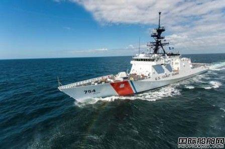 Ingalls Shipbuilding接获USCG国家安全巡逻艇先期采购合同