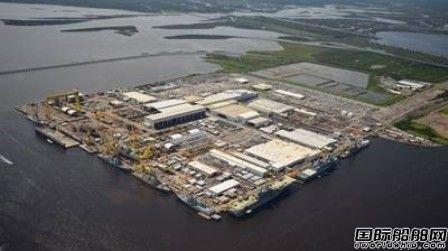 美国最大舰船制造商订购自动化船厂设备