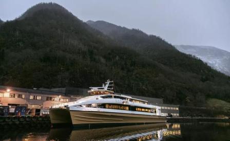 广东船企发力新材料船型建造