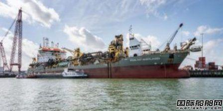 LDA首艘风场运维船在CEMRE船厂下水