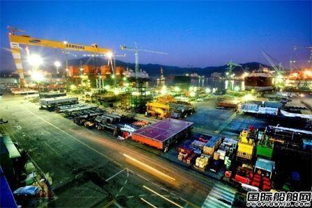 韩国船企订单大增有望夺回冠军宝座