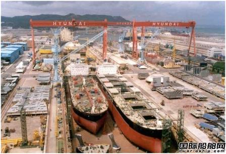韩国三大船企有望完成全年订单目标