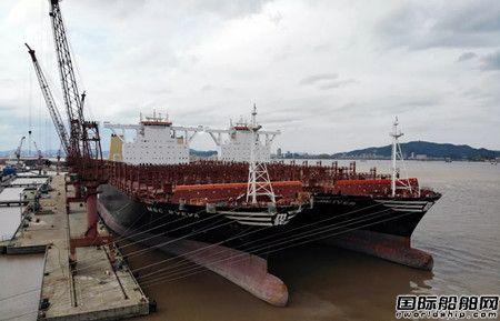 金海船务再接地中海航运2艘超大型箱船维修订单