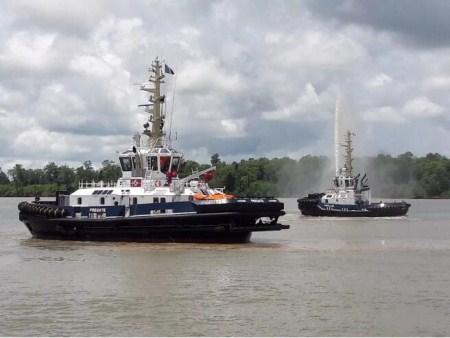 达门定制拖轮实现疏浚勘测功能