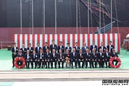日本大岛造船交付一艘6万吨木片运输船