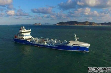 中航鼎衡两艘7999吨化学品船命名