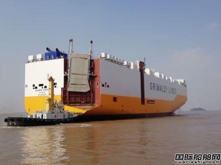 扬帆集团自主设计7800PCTC首制船完成多个重要节点
