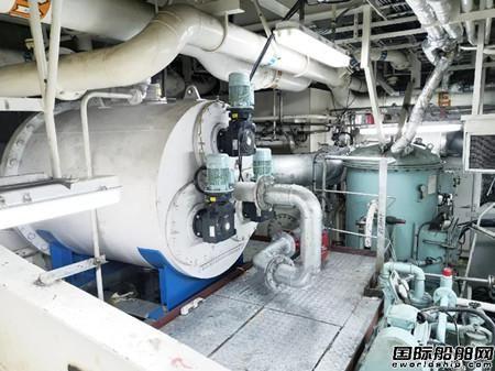 """威海科技完成""""慈�山""""轮压载水系统升级改造"""