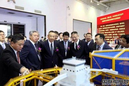 大船集团亮相大连海事展发布超大型LNG-FSRU船型
