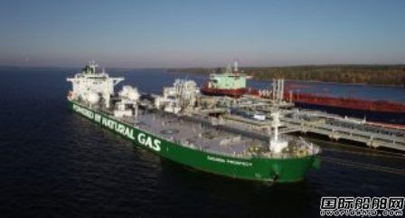 全球首艘LNG动力阿芙拉型油船完成处女航
