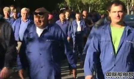 Uljanik集团旗下两家船厂再次罢工