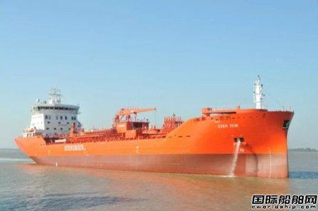 口岸船舶交付第二艘17500吨化学品船