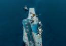 俄媒:维修俄航母浮船坞断电沉没系降雪造成