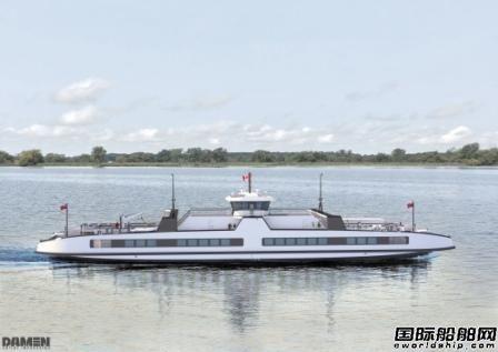 肖特尔助力加拿大首批全电力双头渡船