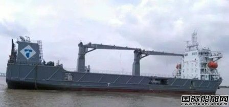 黄埔文冲两艘1100TEU系列船接连试航