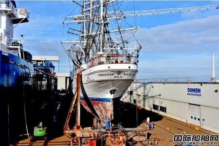 达门修船厂完成大型帆船修缮工程