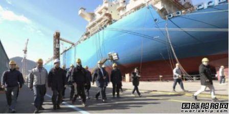 日本政府向WTO起诉抗议韩国补贴造船业