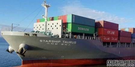 大鲜造船获2艘支线集装箱船订单