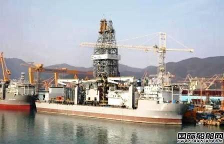 大宇造船有望获得10亿美元钻井船尾款