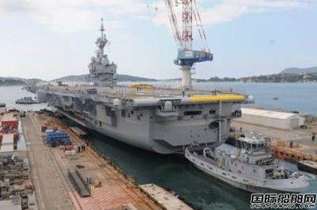 法国海军戴高乐号航母完成改装